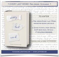 Every Last Word | Tamara Ireland Stone | 2015