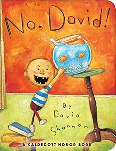 No, David! (David Books [Shannon]): David Shannon: 9781338299588: Amazon.com: Books