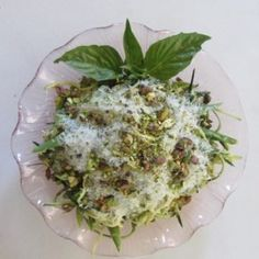 Zucchini Noodle Salad from Dorothy's blog. I love these zucchini noodles!