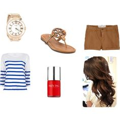 summer, created by bamitsmeaghan on Polyvore