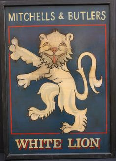 Pub Sign - Mitchells & Butlers White Lion