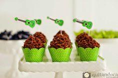 Festa Instrumentos Musicais Cupcakes