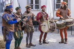 Os Gambuzinos, música medieval Feira medieval de Viana do Castelo