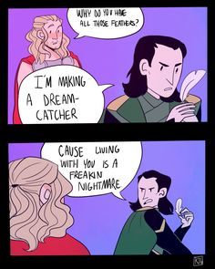Ha ha this should totally be in the Loki movie