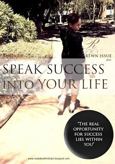 Real Talk With Nthabiseng: SPEAK SUCCESS INTO YOUR LIFE