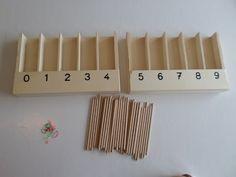 En classe avec Montessori: Les fuseaux