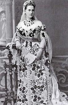 OLGA REGINA DI GRECIA 1880