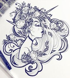 draw, art, and illustration kép Inspiration Art, Art Inspo, Cool Drawings, Drawing Sketches, Drawing Faces, Pencil Drawings, Art Du Croquis, Art Reference, Amazing Art