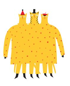 Cat-erpillar suit - Thereza Rowe ▲ illustration