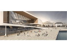 Guggenheim Helsinki | Kimmel Eshkolot Architects Shopping Mall Architecture, Cultural Center, Facade Architecture, Helsinki, Competition, Exterior, Culture, Gallery, Building