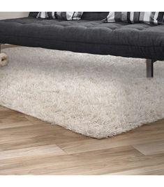 White Carpet, Shaggy, Cribs, Ottoman, Chair, Furniture, Home Decor, White Rug, Cots