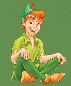 Cute picture of Peter Pan