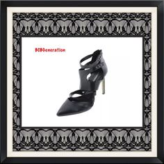 Brand NEW BCBG Black Caged D'Orsay Heels 11 BCBGeneration Size: 11 Medium (B,M) Size Origin: US Manufacturer Color: Black Retail: $159.00 Condition: New without box Style Type: D' Orsay Heels Collection: BCBGeneration Shoe Width: Medium (B, M) Heel Height: 4 3/4 Inches Platform Height: 1/4 Inches Closure: Back Zipper Material: Leather/Man Made Fabric Type: Leather Specialty: Caged BCBGeneration Shoes Heels
