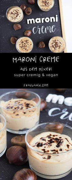 Maroni Creme - Dessert im Glas Geschenke aus der Küche