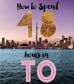 How to Spend 48 Hours in Toronto, Canada Toronto Vacation, Vacation Spots, Trip To Toronto, Cruise Vacation, Vacation Ideas, Seattle Travel, Toronto Travel, Ontario Travel, Niagara Falls Toronto