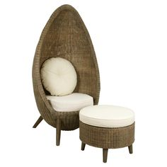 Showcasing rattan wood frames and ivory-hued upholstery, this lovely seating set is perfect for a relaxing afternoon in your living room or den.