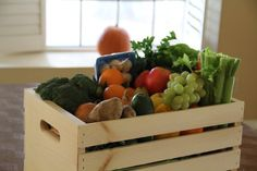 Small Fruit and Veg Box - Organic and delivered