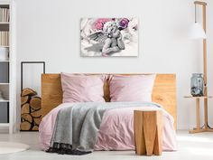 Diy Canvas, Canvas Wall Art, Angel Flowers, Karen Smith, Background Diy, Chestnut Horse, Commercial Art, Photomontage, Wall Art
