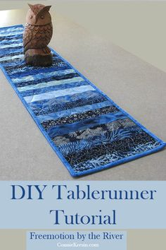 DIY Batik Strips Tablerunner Tutorial #IslandBatik #Quilting #DIY #batiks #tutorial #tablerunner