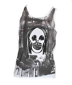Berlato Calavera Talla XL 75/55 cm. Camiseta de Tirantes para Hombre 100% algodón, Man Cotton Tank Top. Berlato Man, Tank Tops, Cotton T Shirts, Photo Storage, Suspenders, Skulls, Men, Halter Tops