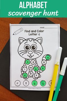 Alphabet I Spy Letters Worksheets for preschool, kindergarten and first grade students. This literacy center activities are fun because your students' can practice letter recognition, just like a game. Teaching the beginning sounds has never been easier, Letter Worksheets For Preschool, Preschool Games, Alphabet Worksheets, Alphabet Activities, Preschool Kindergarten, Alphabet Letters, Kindergarten Worksheets, Classroom Activities, Free Preschool