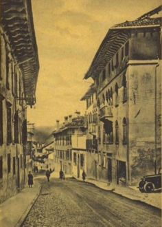 Via Mezzaterra Feltre Belluno Dolomiti Veneto Italia