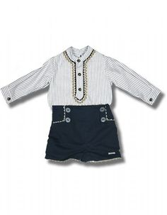 Conjunto Foque. camisa y pantalón 24 y 36 meses