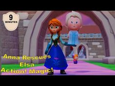 Anna and Frozen's Elsa With Nursery Rhymes