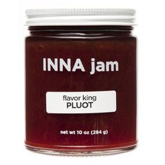 flavor king PLUOT jam from INNA jam for $12.00 Strawberry Jam, Raspberry, Mast Brothers Chocolate, Pink Lady Apples, Renegade Craft Fair, Organic Fruit, Pie Cake, Cookie Desserts