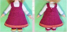 Crochet Diy, Lana, Apron, Weaving, Fashion, Unicorn Dress, Crochet Elephant, Knitted Dolls, Crochet Rabbit