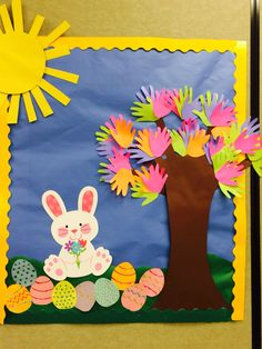 Spring bulletin board /easter