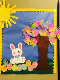 Spring Bulletin Board Easter