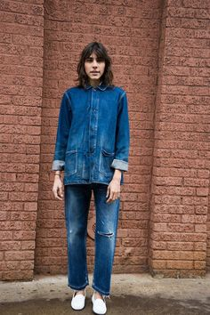 Maryam Nassir Zadeh | SELVEDGED USED DENIM ANKLE CUT JEANS