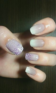Ombre nails