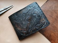 Fighting Dragons Passport Wallet,Passport Cover,Passport Holder,Leather passport wallet