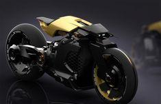 Electric Cafe Racer by Yung Presciutti Futuristic Motorcycle, Futuristic Cars, Motorcycle Bike, Motorcycle Quotes, Cafe Racer Motorcycle, Concept Motorcycles, Cool Motorcycles, Triumph Motorcycles, Armadura Ninja