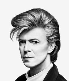 David Bowie by hectorhes on DeviantArt David Bowie, Inspirations Magazine, Photoshop, Deviantart, Instagram, Image, Dibujo, Cover Pages