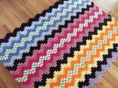 crochet blanket...would love as rug runner