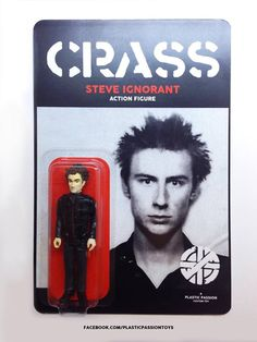 Crass anarcho-punk action figure: Do they owe us a plaything? | Dangerous Minds