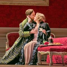 """""""The dramatic chemistry between Ms. Fleming and Ms. Garanca came through in their every exchange.""""— @nytimes Der Rosenkavalier starring @reneeflemingmusic and @elina.garanca is on stage tonight, April 17. ______________________________________________ #DerRosenkavalier #Strauss #Grand #Glamorous #NewProduction #Romance #YoungLove #WillYouAcceptThisRose #IfICouldTurnBackTime #PantsRole #Love #Opera #MetOpera #TheMet Photos by Ken Howard/Metropolitan Opera"""