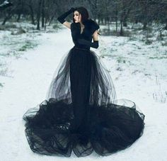 Top Gothic Fashion Tips To Keep You In Style. As trends change, and you age, be willing to alter your style so that you can always look your best. Consistently using good gothic fashion sense can help Black Wedding Dresses, Tulle Wedding, Wedding Pics, Wedding Venues, Glamour, Gothic Wedding, Luxury Wedding, Fashion Mode, Dark Fashion