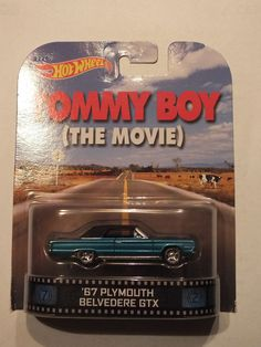Hot Wheels Retro Entertainment - Tommy Boy the Movie - '67 Plymouth Belvedere