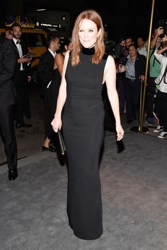 Julianne Moore at Tom Ford - The Best Front Row Fashions at New York Fashion Week Spring 2017  - Photos