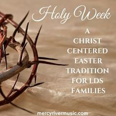 Looking for a way to make Easter more Christ centered? Check out how my family celebrates for 8 whole days- it's called Holy Week! This special tradition has made Easter my very favorite holiday. All 3 of us will be celebrating Holy Week this year and posting pics of each day. Join us! Link in profile. #holyweek #easter