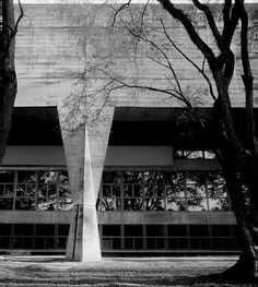 João Batista Vilanova Artigas, College of Architecture and Urban Planning (FAU) Center at University São Paulo, 1969