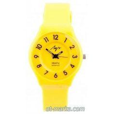 Часы жёлтые ДЕК.РЕМ Watch for children. Lovely children's watch. Made in Russia. Delivery.