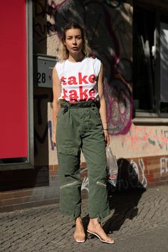 6 of the Worlds Most Stylish People Show Us How to Wear Cargo Pants Now