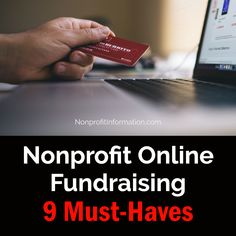 Nonprofit Online Fundraising Tips - Resources - Charity Online Giving Marketing Tips