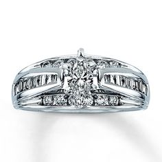 My baby now but the 5yr is up in June ;) Diamond Engagement Ring 1 ct tw Marquise-cut 14K White Gold
