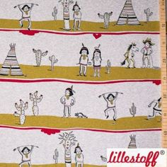 Lieblingsstücke: lillestoff, Indianerleben, Bio-Jersey,... Kids Rugs, Home Decor, Native Americans, Fabrics, Homemade Home Decor, Kid Friendly Rugs, Decoration Home, Nursery Rugs, Interior Decorating